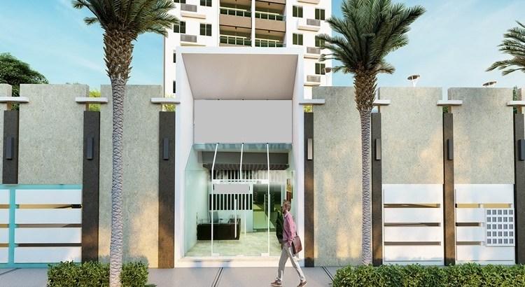 Torre de apartamentos en Av Jacobo Majluta