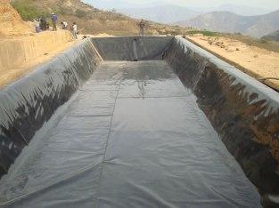 Geomembrana para reservorios