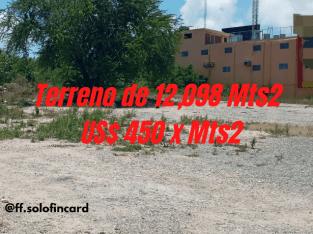 ( TERRENO DE 12,098Mts2) Herrera,Sto.Dgo.Oste