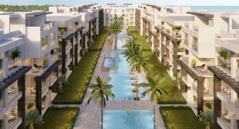 Beach front 1,2 Beds for sale in OCEAN BAY Punta Cana