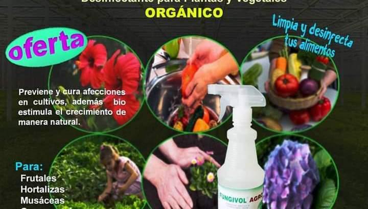 Desinfectante para plantas