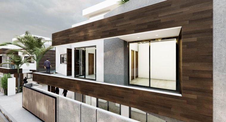 Aut. San Isidro, Zona Oriental, Venta Proyecto Casas, 3 dormitorios, 3.5 baños, 2 Parqueos