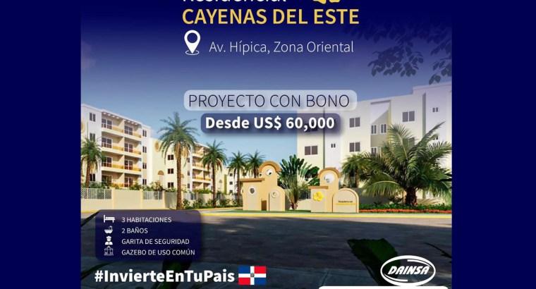 Condo-PRECIO en Santo Domingo Este