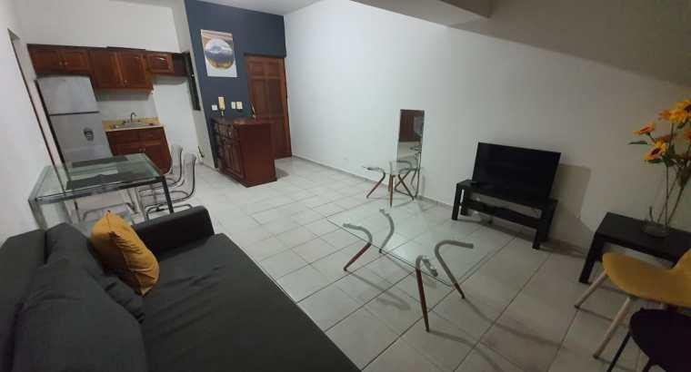 Gazcue, Unibe, Alquiler Apartamento Amoblado, 1 Hab, 1 baño, 1 Parqueo