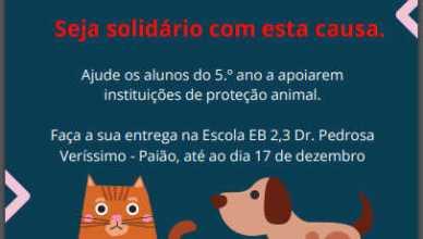 Campanha Recolha de Produtos para Animais