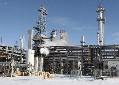 Sinclair Oil Refinery