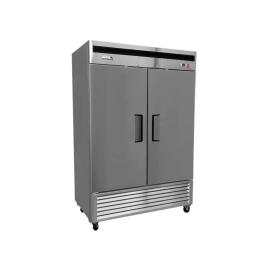 Refrigerador industrial inox 2 ptas acero