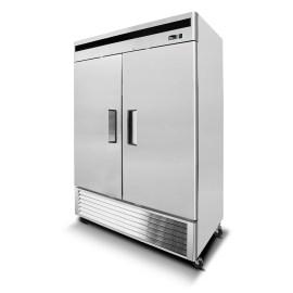 Congelador industrial inox 2 ptas acero