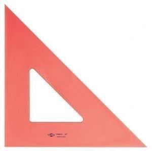 "4"" Flourescent Trinagle, 45 Degree"