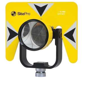 1010 0/-30mm Single Tilting Prism System, Yellow