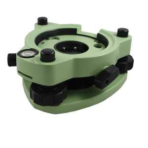 05-1200 Swiss-Style Tribrach with Optical Plummet, Green