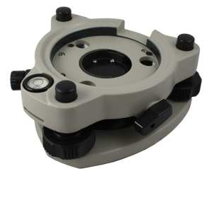 05-1200 Swiss-Style Tribrach with Optical Plummet, Grey