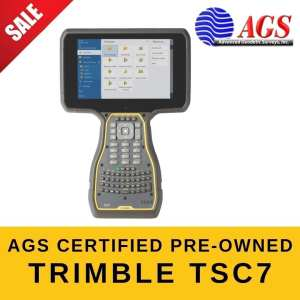 AGS Certified PreOwned Trimble TSC7 Data Collector | Trimble Land Surveying Equipment