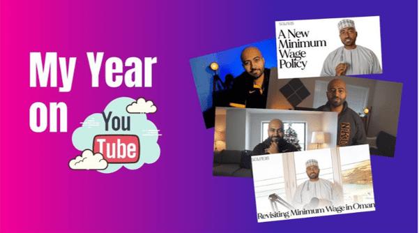 Abdallah Al Bahrani hosts a YouTube channel where he discusses applied economics (photo courtesy of Abdullah Al Bahrani)