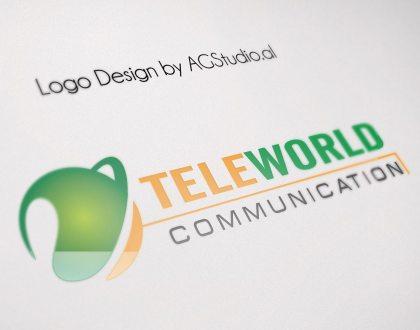 LOGO TELEWORLD COMMUNICATION