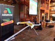 Setup for show for Monsanto