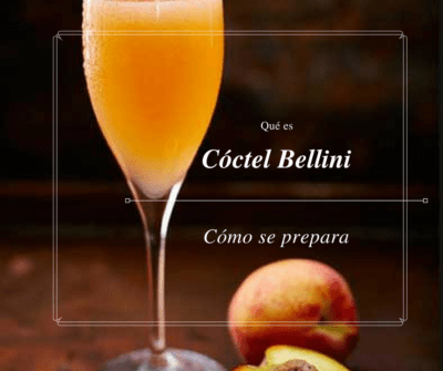 Qué es un cóctel Bellini y cómo se prepara