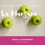 Manzana, deliciosa fuente de salud, sabor y propiedades