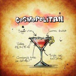 cómo se prepara el Cosmopolitan