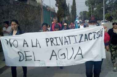 Marcha en Ixtapaluca
