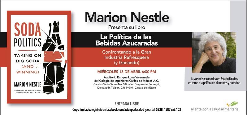 Marion+Nestle+presenta+Soda+Politics_Colegio+de+Ingenieros