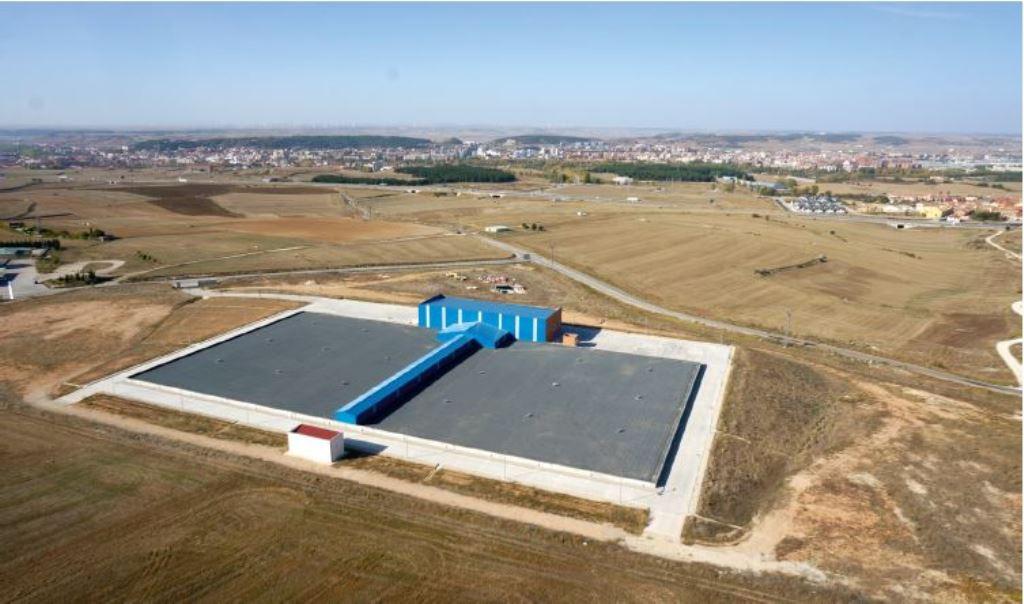 Anillo de Abastecimiento y Depósitos de Agua Potable de Cortes