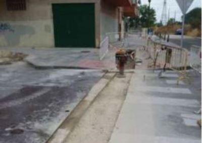 Calle Sasamón y Mirasierra