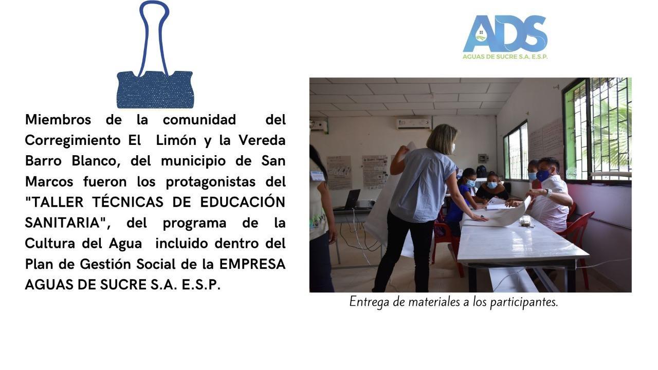 TALLER DE TÉCNICAS DE EDUCACIÓN SANITARIA
