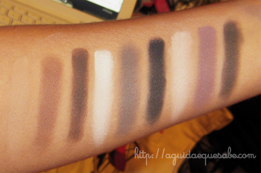 sombras mate matte eye paleta too faced swatch