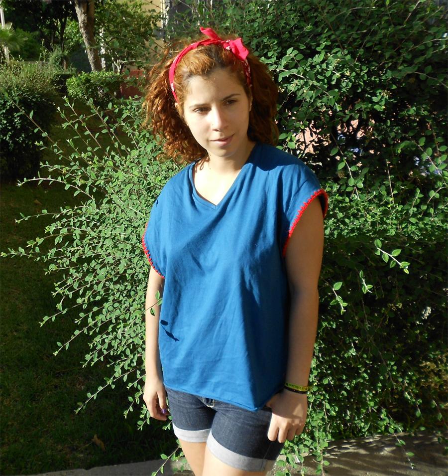 Blusa Crochet Coisas da Ju Handmade Blouse diy costura portugal outfit look do dia lotd