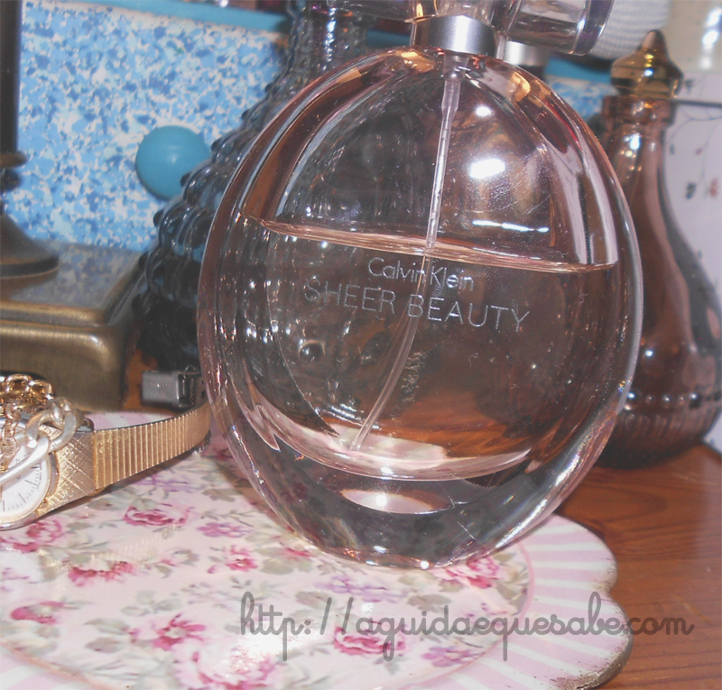 sheer beauty calvin klein edt perfume fragrância