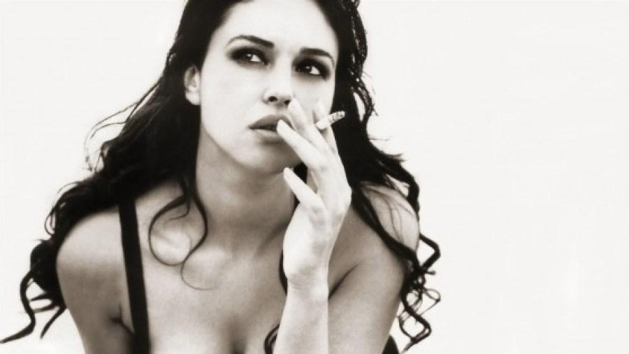 monica bellucci fumar não fumadores malefícios do tabaco cancro pulmão