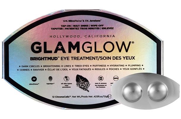 Glam Glow BrightMud Eye Treatment review resenha lifting máscara