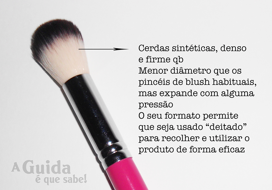 pincel maquilhagem maquiagem review swatch resenha made in portugal argent makeup 102 girly