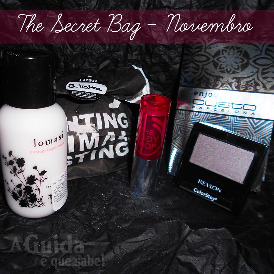 Beauty Box The Secret Bag subscrição beleza maquilhagem