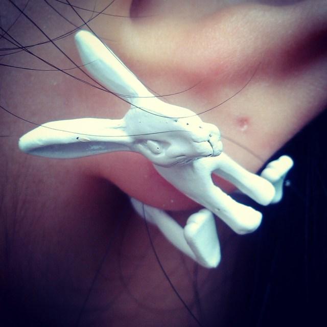 Brinco Coelho Ebay Rabbit Earring