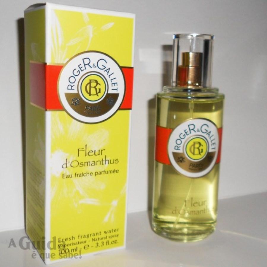 fleur dosmanthus roger & gallet perfume colónia edt perfume review blog swatch beleza maquilhagem