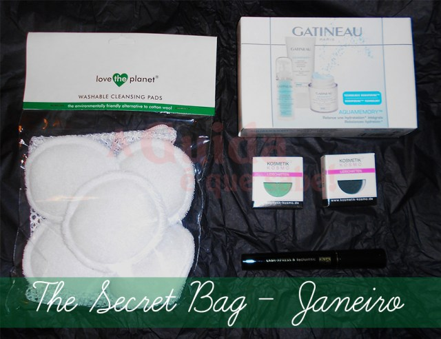 secret bag maquilhagem resenha review eco vegan cruelty free subscrição