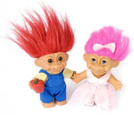 trolls troll dolls vintage anos 90 brinquedos filme cinema review mac edição limitada