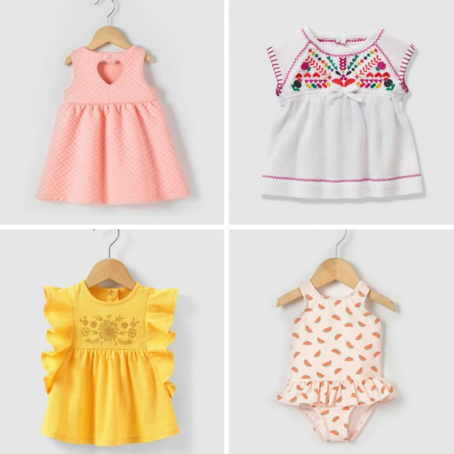Moda Bebé Menina infantil la redoute cupão promoções look do dia fashion trends trendy