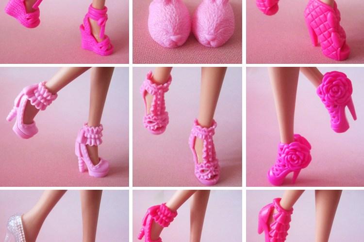 sapatos barbie