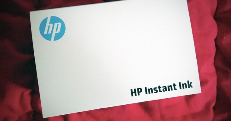 HP Instant Ink – Tinteiros ao domicílio