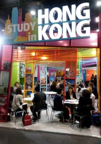 EAIE, 2016, Liverpool, Study in Hong Kong