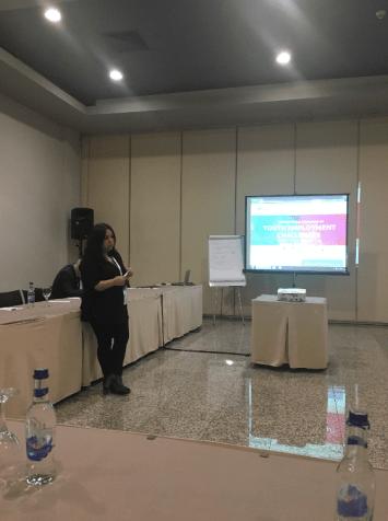 Eurasia Higher Education Summit, EURIE 2017, panel, Zeynep Tuğçe Çiftçibaşı Güç, Abdullah Gül University, AGU