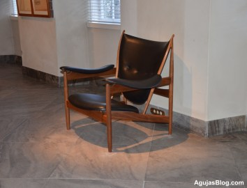 The Chieftain Chair designed by Finn Juhl in 1949. Very comfortable.