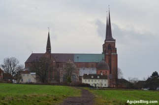 Danish kings and queens spanning over 10 centuries are buried at Roskilde Cathedral.