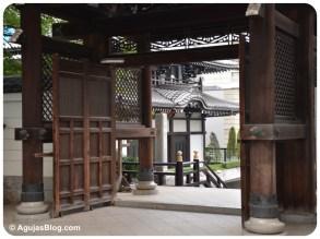 Tokyo - Doorway to Shrine Courtyard