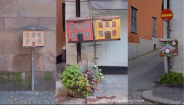 These decorated mailboxes are all over Gamla Stan.