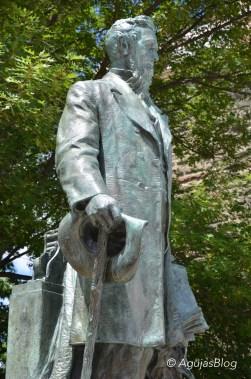 Statue of Ezra Cornell
