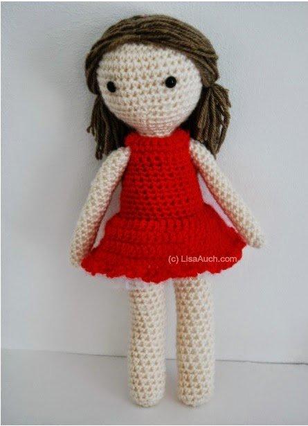 Crochet Dolls Hat Pattern : A pedido!! n?mero 24. Cinco patrones gratis de amigurumi ...